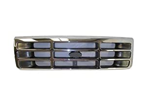 92-96 95 94 93 FORD F150 F250 F350 TRUCK CHROME GRILLE