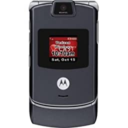 Motorola Razr V3C Platinum-Granite (US Alltel with no contract)