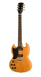 Gibson SG Special 60s Tribute Electric Guitar, Worn Natural, Left Handed