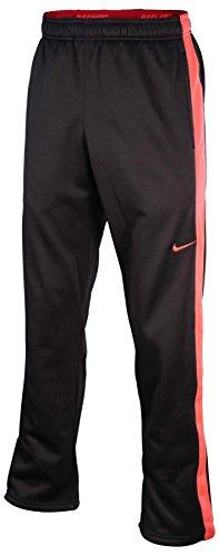 Nike Men's Therma-Fit KO Training Pants-Dark Gray/Hyper Coral-XL