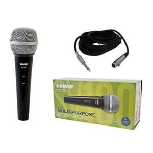 Shure Sv100 Qtr Multi-Purpose Microphone Karaoke Handheld Dynamic Cable New