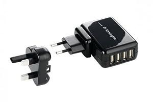 Kensington 4-Port USB Charger for Mobile