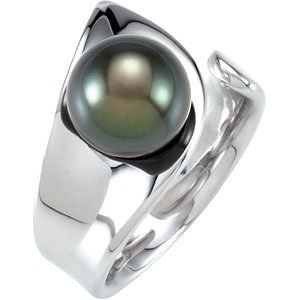 Tahitian Cultured Pearl Ring ,Size- 6