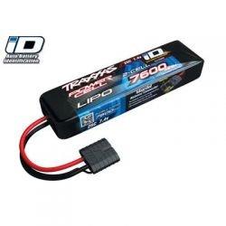 25C 7.4V 7600mAh Lipo Battery, w/TRA ID