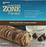 Zone Perfect Cookie Dough Zone Perfect All Natural Nutrition Bar Cookie Dough Chocolate Chip 6 Bags
