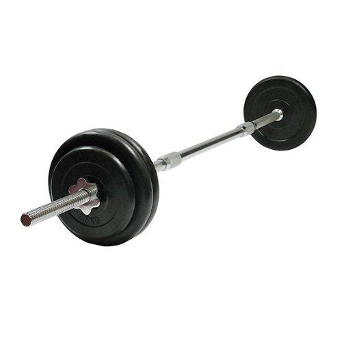 Bodymax 32kg Standard Rubber Barbell Kit