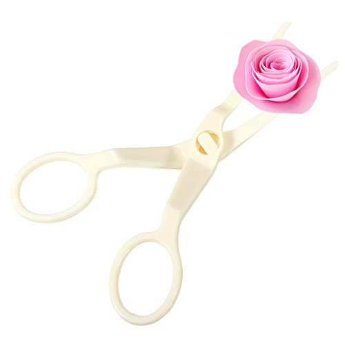 Yonger Cake Flower Lifter for Decoration Cream Roses Decorating Scissors (Rose Lifter compare prices)