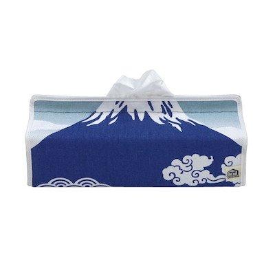 (テンテ) tente HS377601 Fujiyama フジヤマ ティッシュボックスカバー 富士山 ケース ご当地 [帆布] (ブルー)
