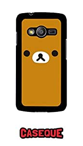 Caseque Rilakkuma Bear Back Shell Case Cover for Samsung Galaxy Ace 4