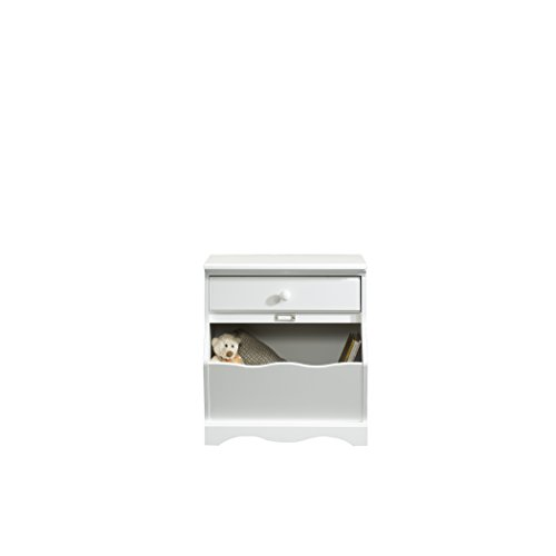 Child Craft Monterey Night Stand, Matte White - 1