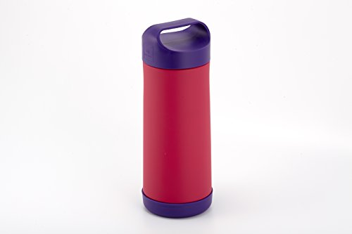 Stainless Steel Insulated Bottle Holder (Pink)