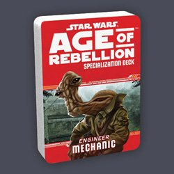 Star Wars Age of Rebellion: Mechanic Specialization Deck