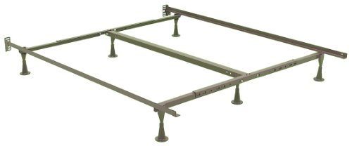 Leggett & Platt Consumer Products Group Deluxe Promotional Bed Frame With Glides, Queen/King/California King