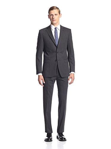 Simon Spurr Men's Striped Slim Fit Suit