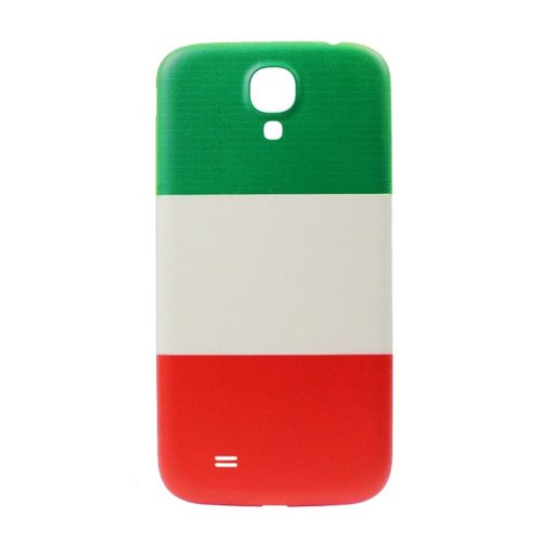 Matek (Tm) Luxury Italy Flag Cover Back Rear Cover Housing Door For Samsung Galaxy Siv S4 I9500