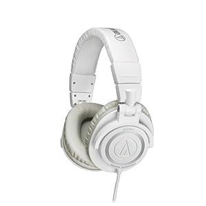 Audio-Technica ATH-M50WH Professional Studio Monitor Headphones
