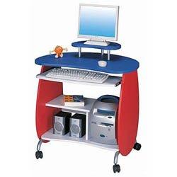 Kids' puter Desk – Red Blue