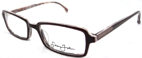 brand-new-authentic-sean-john-rx-eyeglasses-frames-sj2012-209-52x18-brown-marble