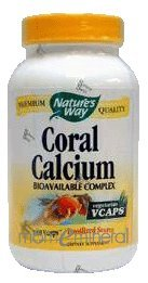 Coral Calcium 90 Vegetarian Capsules by Nature's Way