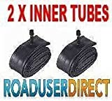 2 x Joolz Day Tokyo Stroller Pushchair Inner Tubes 12 12 12 Straight Valve FREE Upgrade Chrome Valve Caps For A Better Seal