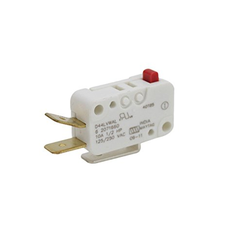 207166 Admiral Washer Lid Check Switch