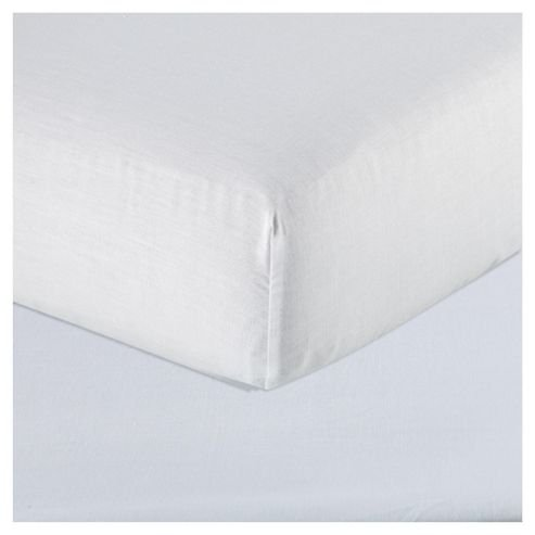 500-thread-count Egyptian Cotton Super Soft Extra Deep Pocket Fitted Sheet/bottom Sheet Twin Extra Long Solid White Fit up to 21