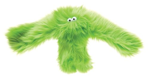 West Paw Design Salsa Orangutan Squeak Toy for Dogs, Lime