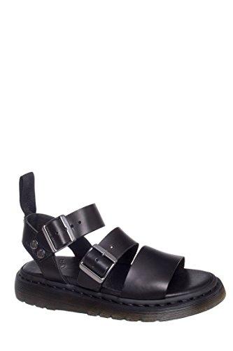 Gryphon Ankle Strap Flat Sandal