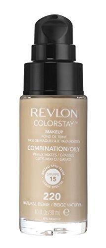Revlon - Colorstay Dispenser Pelle Normale e Mista - Fondotinta Natural Beige