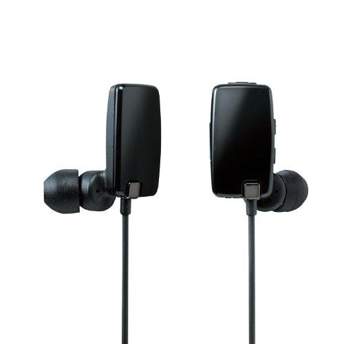 Logitec Bluetooth 2.1+EDR対応 ステレオイヤホン[USB充電ケーブル付] カナルタイプ 05シリーズ ブラック LBT-MPHP05BK
