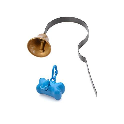 Styddi Metal Dog Doorbell Kit Potty Training For