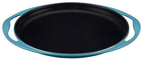 Le Creuset of America Enameled Cast Iron Sizzle Platter, 12 1/4