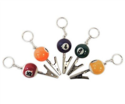 pool-ball-single-metal-roach-clip-assorted-colors