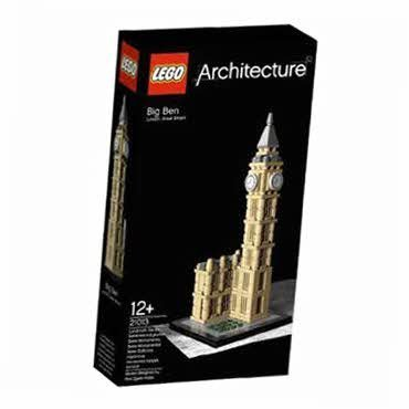Memorable Lego Big Ben (21013) - Lego Wrapped Edition -- By Lego Picture