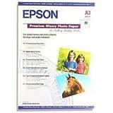 Epson Premium C13S041316 Papier Photo Brillant A3+ (329 × 483 mm)