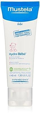 Mustela Hydra Bebe Facial Cream, 1.4 oz.
