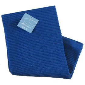 Now Designs Ripple Turkish Cotton Towel Color Royal Blue Stripe Kitchen Products
