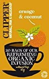 Clipper Organic Orange & Coconut Tea 20 Tea Bags 60g - CLIP-4662