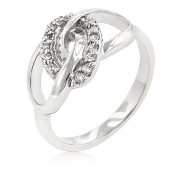 Classic Unity Knot CZ Ring