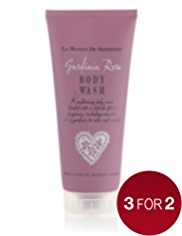 La Maison de Senteurs Gardenia Rose Body Wash 200ml