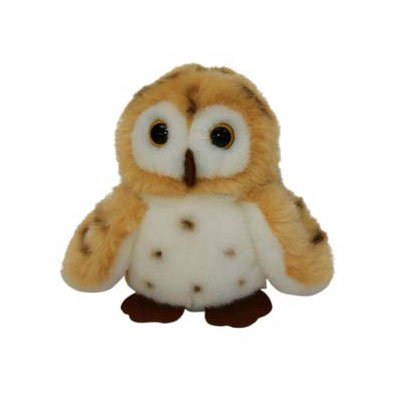 "Wild Republic Itsy Bitsy 4.5"" Owl- Brown Spotted"