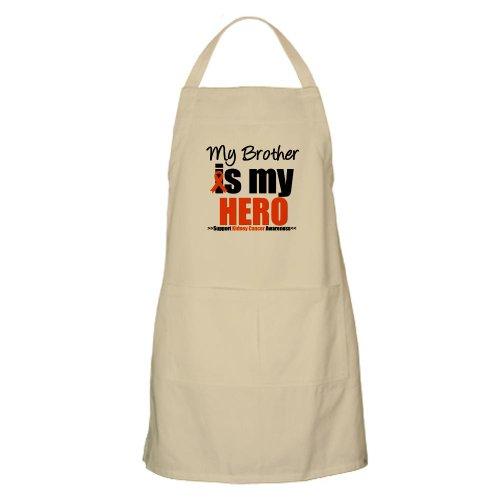Cafepress Kidneycancerhero Brother BBQ Apron - Standard