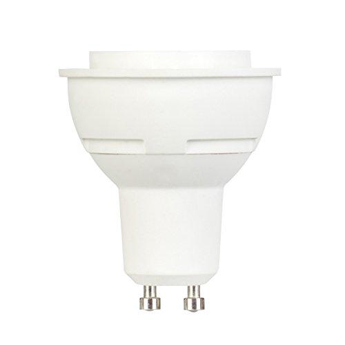 Globe Electric 30810 7-Watt Led For Life Dimmable Mr16 Led Flood Light Bulb, Gu10 Base, Soft White