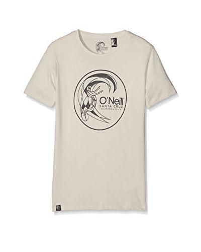 O'Neill T-Shirt Lb O'Riginals Circle Surfer Te wollweiß