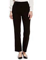 M&S Collection 2 Zip Pocket Supercrease™ Slim Leg Trousers