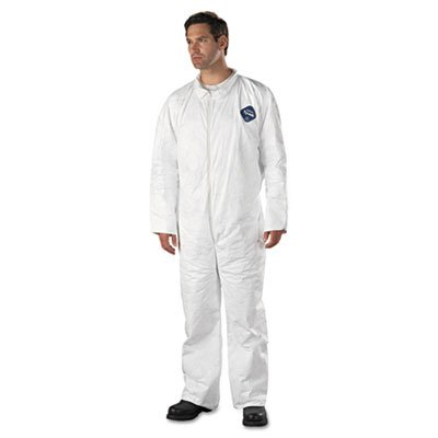 E.I. Dupont De Nemours Industrial Use Tyvek� Coveralls With Open Wrists And Ankles. Includes 25 Coveralls. Manufacturer Part Number: Dup Ty120S2Xl