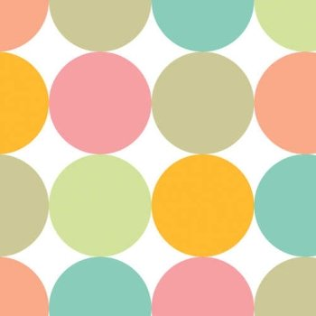 Creative Converting Fun Dots Dinner Napkins, 16 Count
