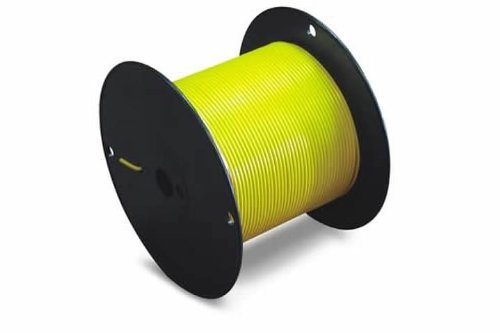 Jt&T Products (180C) - 18 Awg Black Primary Wire, 100 Ft. Spool