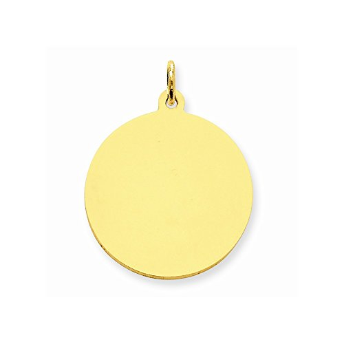 15mm x 30mm 14k Yellow Gold Dolphins Pendant
