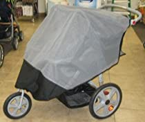 Sashas Sun, Wind and Insect Cover for InStep Grand Safari Double Stroller Jogger